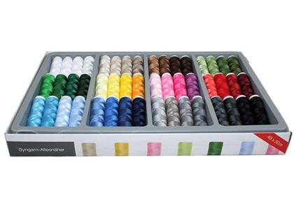 Set sukancev – igra barv – 48 različnih sukancev