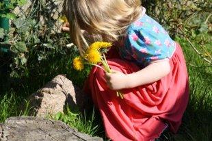 Otroška obleka - princesa
