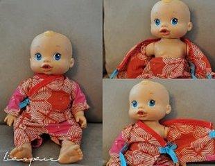 Kimono za dojenčka